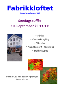 Fabrikkloftet 10 september 17